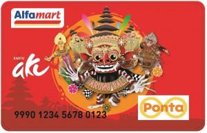 Alfamart Ponta Card Edisi Barong Bali
